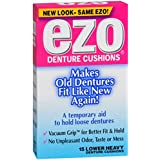 Ezo Denture Cushions, Lower Heavy - 15 ct, Pack of 5