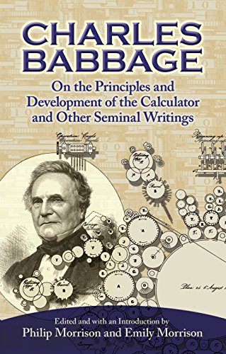 (On the Principles and Development of the Calculator and Other Seminal)