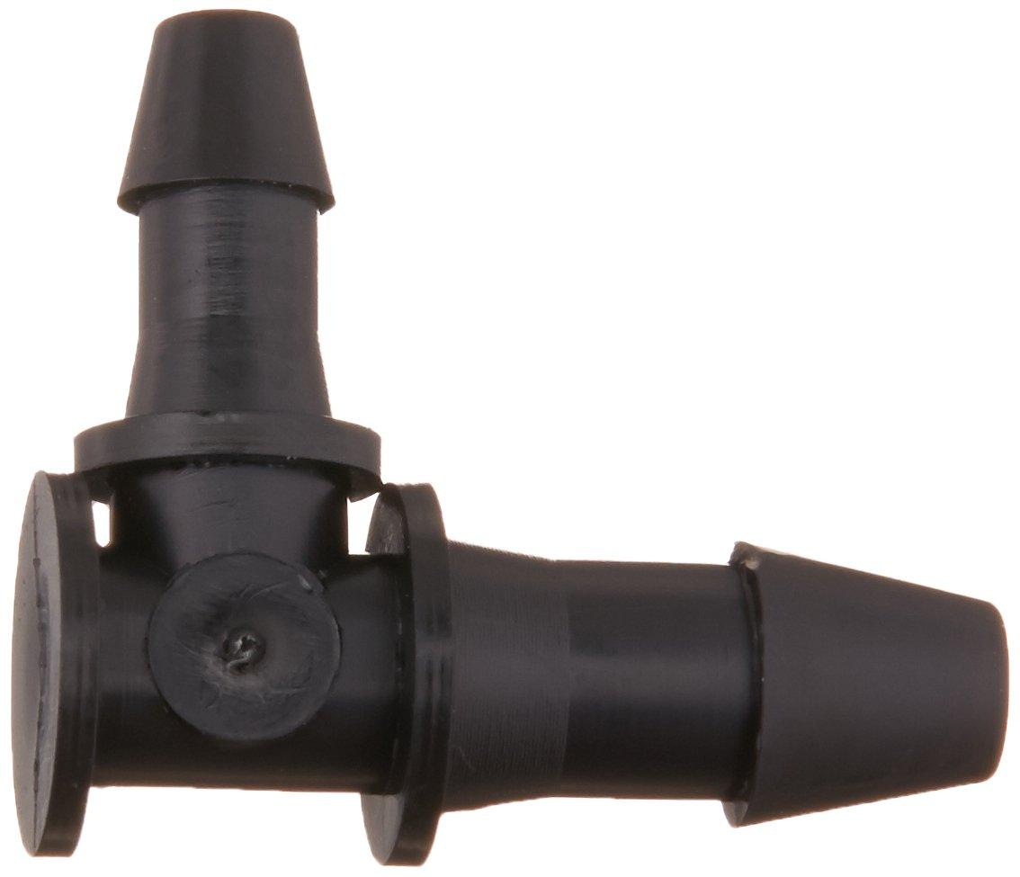 Pack of 10 Eldon James RL2-1.5-200BN Black Nylon Reduction Elbow 1//8 x 3//32 Hose Barb