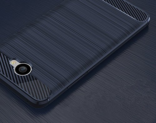 Huawei Ascend XT2 Case, Soft Silicon Luxury Brushed Case with Texture  Carbon Fiber Design Protection Cover for Huawei Ascend XT2 H1711 with  Tempered
