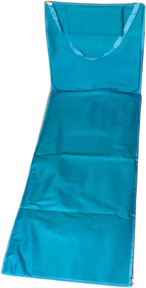 Stylish Folding Beach Mat with Backrest Lightweight Lounge Chair Beach Accessoies Light Blue Foldable Beach Blanket Mat Lounger
