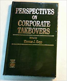 Book Perspective on Corporate Takeovers