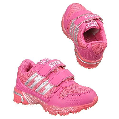 Ital-Design - zapatilla baja Niños-Niñas Rosa - Pink 8