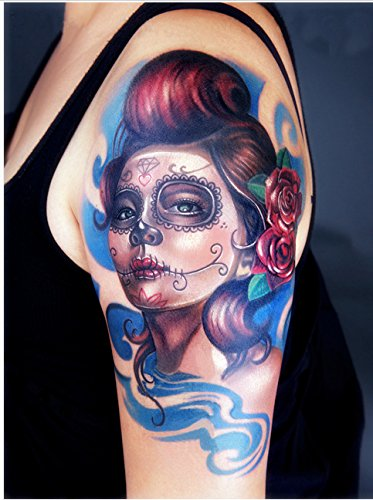 Arte Corporal Pegatinas Tatuaje removibles temporales Mujer ...