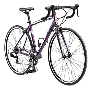 Schwinn Volare 1400 Road 700C Wheel Bicycle, Matte Purple, 48 cm/One Size