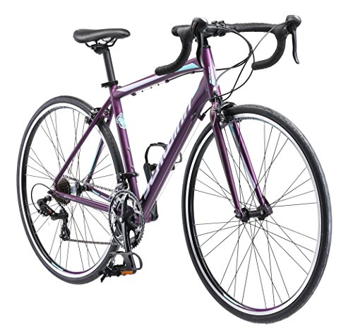 Schwinn Volare 1400 Road 700C Wheel Bicycle, Matte Purple, 48 cm/One Size Pacific Cycle (Over-Boxed Product)