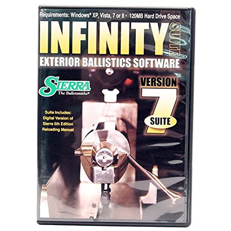infinity version 6 exterior ballistic software free