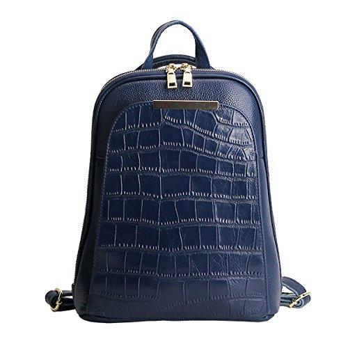 Sac main femme Sac fashion à 895 E cuir épaule Sac dos Girl Bleu en LF portés portés OqOAvX