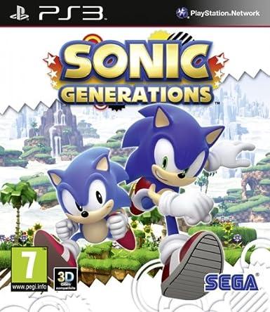 Amazon Com Sonic Generations Ps3 Video Games