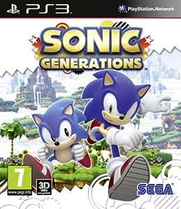 Sonic Generations (PS3) [Importación inglesa]