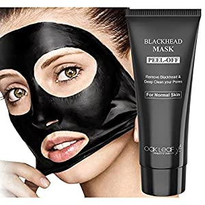 Oak Leaf Black Mask