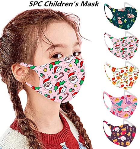 Halloween Reusable Vintage Unisex Adult Face Bandanas Washable Breathable Cotton