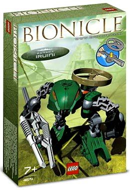 with LEGO Bionicle design
