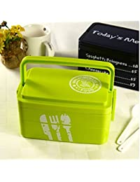 Buy 3 Layers Today's Menu Lunch Box Microwave Bento Box Japanese Style Bento Lunch Container discount