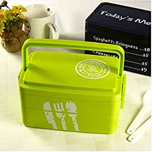 3 layers today 39 s menu lunch box microwave bento box japanese style bento lunch. Black Bedroom Furniture Sets. Home Design Ideas