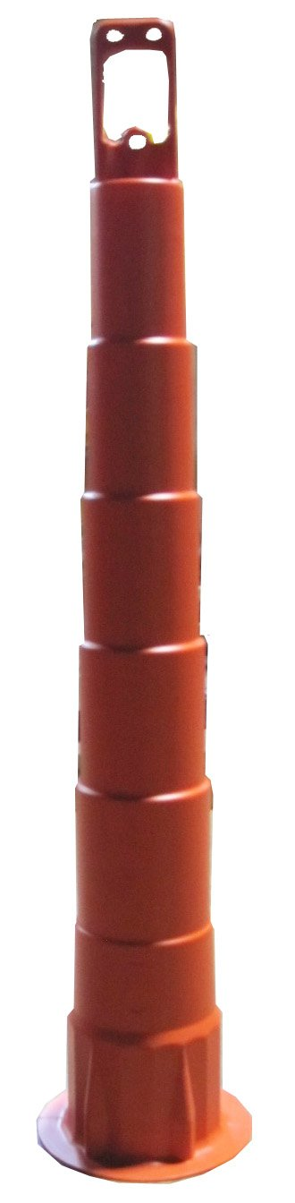 Work Area Protection CC42 Linear Low Density Polyethylene Channelizer Traffic Cone, 6'' Diameter x 42'' Height