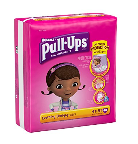 Huggies Pull-Ups Training Pants Learning Designs - Girls - 4T-5T - 40 ct