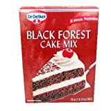 Oetker Black Forest Cake Mix 19.7 oz - 4 Unit Pack