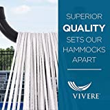 Vivere Double Sunbrella Hammock with 9ft Space