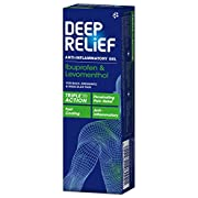 Deep Relief Triple Action Anti-Inflammatory Gel, 50g