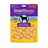 Smartbones Rawhide-Free Dog Bones, Mini, Bacon & Cheese Flavor Review