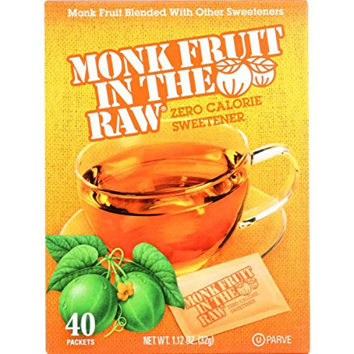 Price comparison product image Monk Fruit In The Raw Monk Fruit In The Raw - 40 packets - case of 8