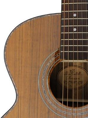 saysn s-0050 C 41-Inch Dreadnought Guitarra Acústica (llave de ...