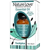 Nature Love Harmonious 100% Pure Well-Being Essential Oil Eucalyptus .34 Oz. Bottle