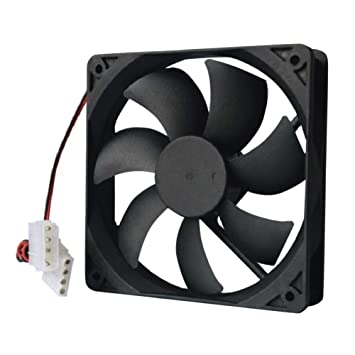 Computer Cooler, DC 12V 4-Pin Brushless PC Computer: Amazon.in: Electronics