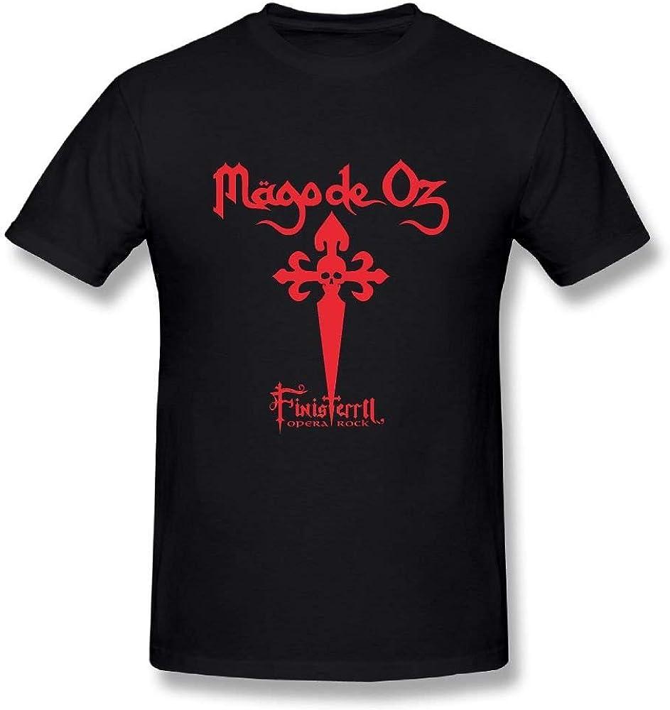 Camiseta Graciosa Mago De oz Finisterra Opera Rock Algodón Camiseta gráfica: Amazon.es: Ropa y accesorios