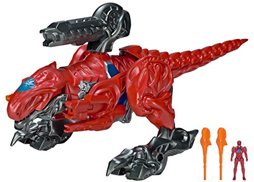 Power Rangers Movie T-Rex Battle Zord with Red Ranger -