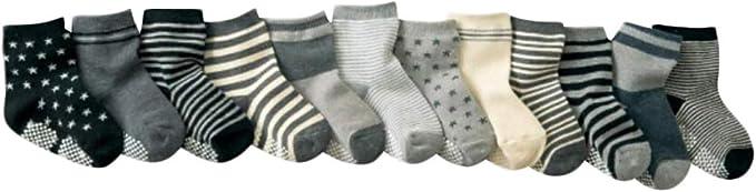 DEBAIJIA Calcetines de Algodón para Bebé 0-7 Años Suaves Cómodos Niños Niñas Calcetines Respirable Primavera Verano Otoño: Amazon.es: Ropa y accesorios