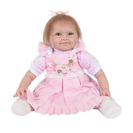 tianranrt Volver Nacida Baby muñeca REALiS mesa suave silicona ...