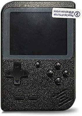 Amazon.es: Flybiz Consola de Juegos Portátil, 3 Pulgadas Consola de Juegos portátil Pantalla HD Consola de Juegos Retro con 400 Juegos, Soporte conectar TV, Regalo de Cumpleaños para los Niños Padres (Negro)