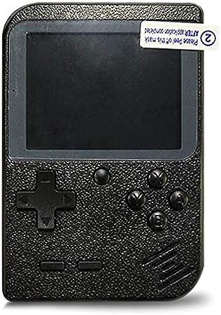 Flybiz Consola de Juegos Portátil, 3 Pulgadas Consola de Juegos portátil Pantalla HD Consola de Juegos Retro con 400 Juegos, Soporte conectar TV, Regalo de Cumpleaños para los Niños Padres (Negro)