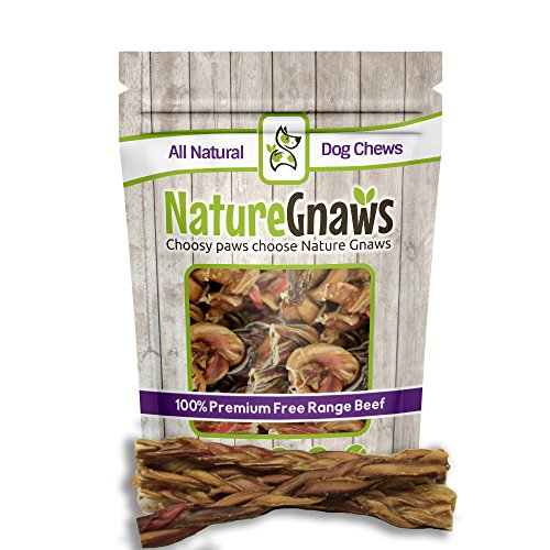 Nature Gnaws Braided Bully Sticks 11-12