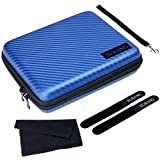 SUBANG Protective Travel Carrying Case Cover for Nintendo 2DS, Blue