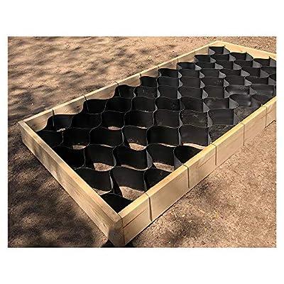 GardenPODS Square Foot Raised Garden Bed Grid : Garden & Outdoor