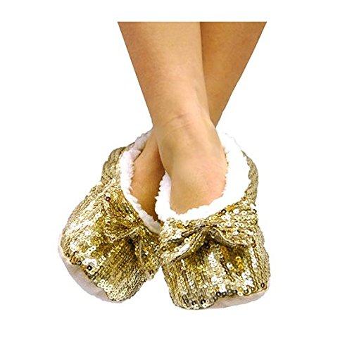 in arrivo allacciarsi dentro negozio di sconto NONAME Pantofole Ballerine Morbide con Paillettes: Amazon.it ...