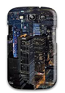 FlowerCase Galaxy S3 Well-designed Hard Case Cover New York Skyline At Night Protector