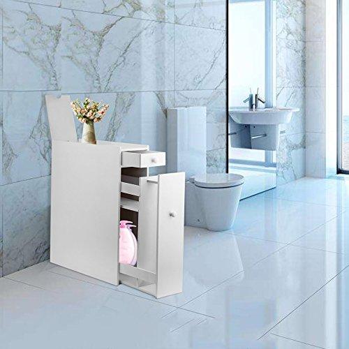 Organizer Im Badezimmer Schrank Wc Rolle Laundry Storage Waschekorb