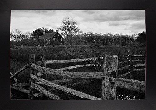 (Split Rail Fencing Framed Print 16.03