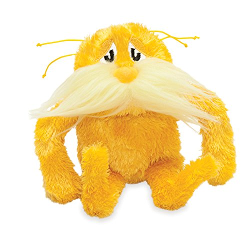 Manhattan Toy Dr. Seuss The Lorax Soft Stuffed Animal Toy -