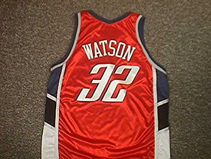 low priced d6832 b4ff9 C.J Watson Charlotte Bobcats Orange Game Jersey at Amazon's ...