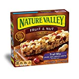 Nature Valley Chewy Granola Bar, Trail Mix, Fruit and Nut, 6 Bars - 1.2 oz (Pack of 12)