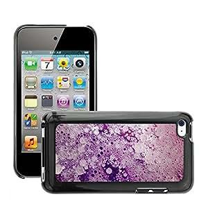 Super Stellar Slim PC Hard Case Cover Skin Armor Shell Protection // M00050850 aero macro frozen foam // Apple iPod Touch 4 4G 4th