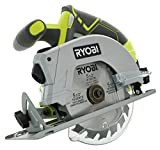 Ryobi P506 One+ Lithium Ion 18V 5 1/2 Inch 4,700 RPM Cordless Circular Saw with Laser Guide and Carbide-Tipped Blade (Battery Not Included, Power Tool Only) green full size