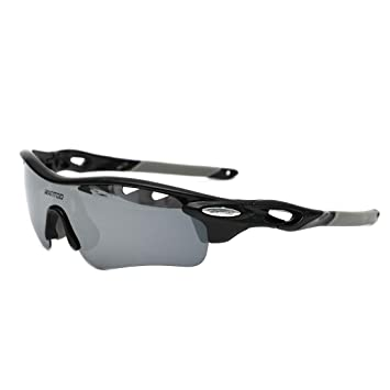 Wantdo Sports Sunglasses Polarized TR90 Unbreakable Frame Cycling ...