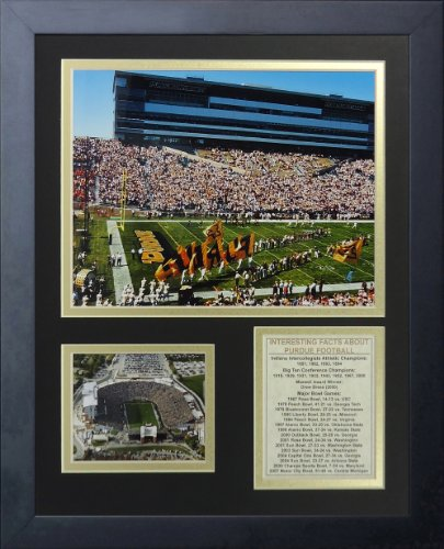 Purdue Boilermakers Framed (Legends Never Die