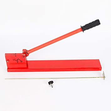 Manual Guide Cutting Machine Din Rail Professional Cutter Tools Double Groove US